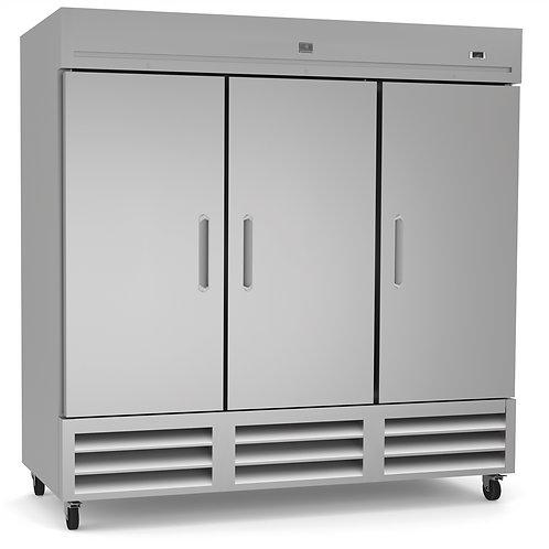 Kelvinator Triple Door Reach-In Freezer 72 CU. FT. KCHRI81R3DF