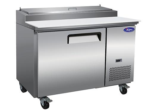 "ValPro 48"" One Door Pizza Prep Table Refrigerator VPP47"