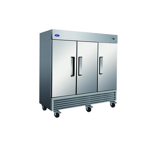 """Valpro Three-Door Reach-In Refrigerator 72 CU. FT. VP3R 81"""""""
