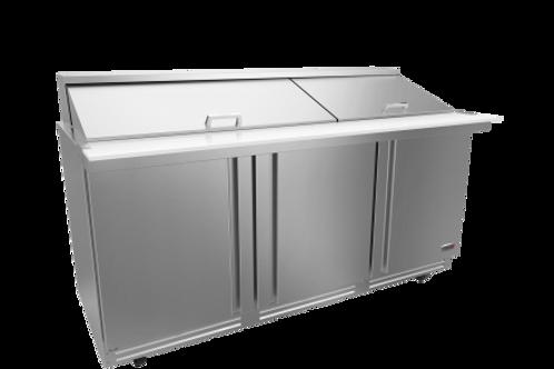 "Fagor 72"" Salad/Sandwich Megatop Refrigerated Prep Table FMT-72-30-N"