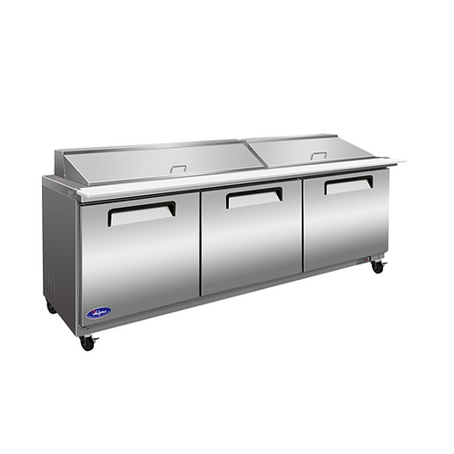 Valpro 72″ Mega-Top Sandwich / Salad Food Prep Table Refrigerator VP72SM-HC