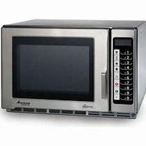 Amana RFS12TS Medium Duty Stainless Steel Commercial Microwave - 120V, 1200W