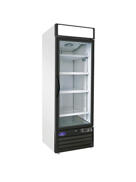 Valpro Single Door Merchandiser Refrigerator 23 CU. FT. VP1R-23