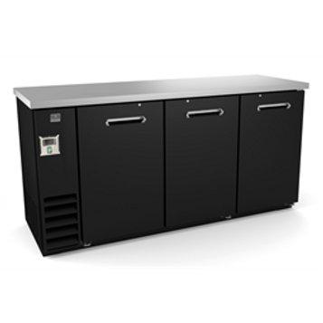 """Kelvinator 72"""" Solid Door Back Bar Refrigerator KCBB72S-HC"""