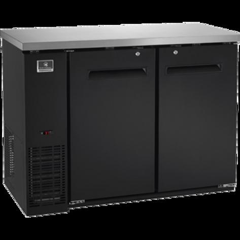 """Kelvinator 48"""" Solid Door Back Bar Refrigerator KCBB48SB-HC"""