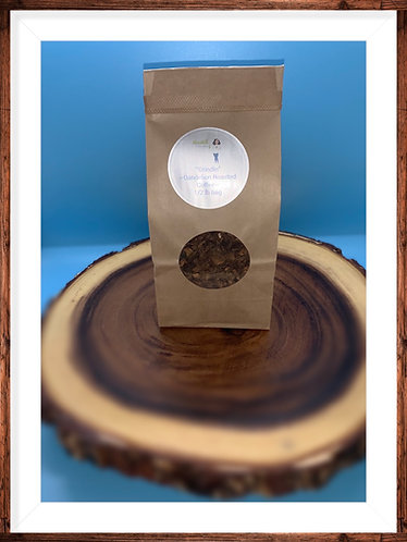 """Grindin"" Dandelion Roasted Coffee"