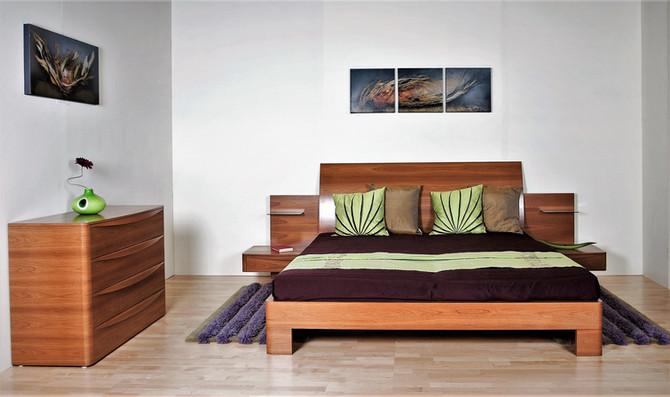 NÍSUS ágy és komód