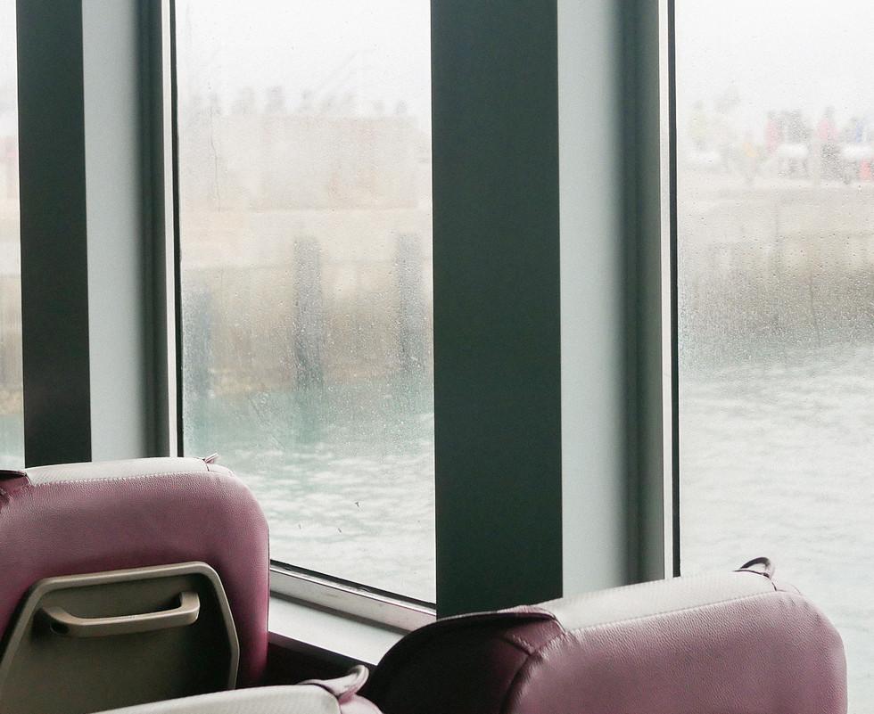 의자와 선착장