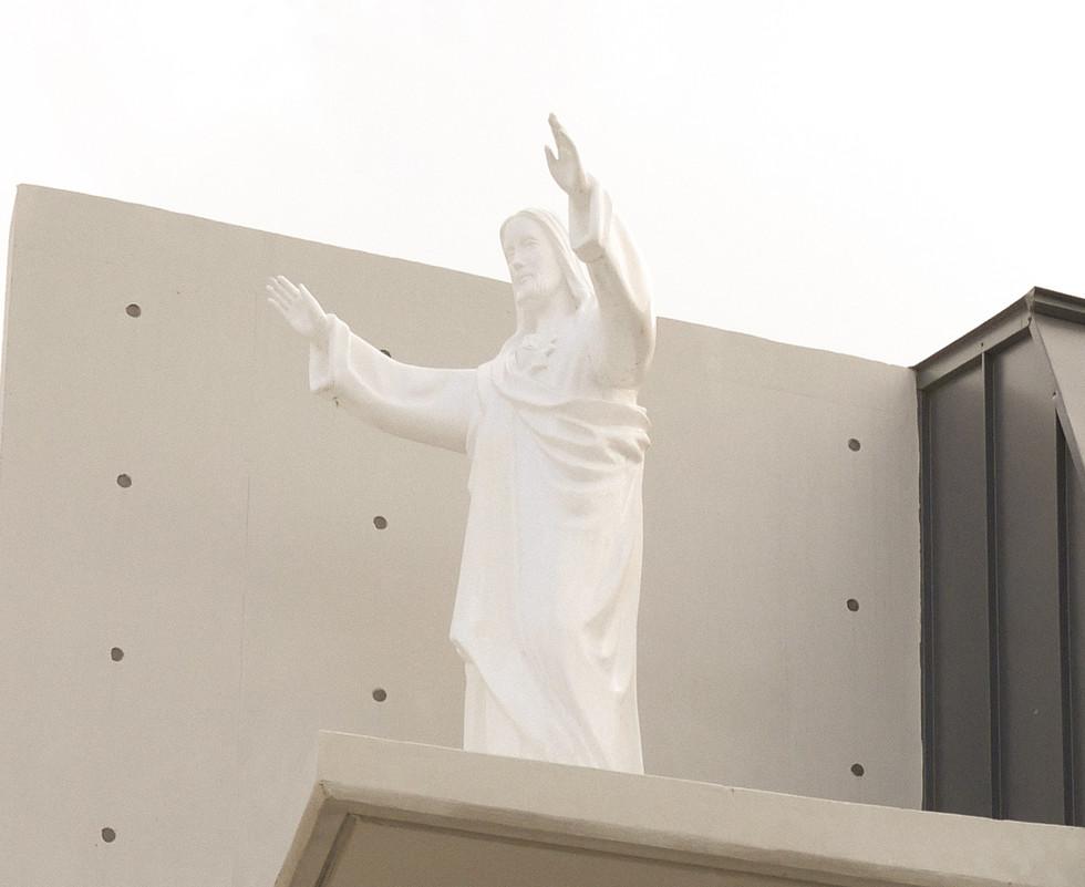 새 성당의 예수님