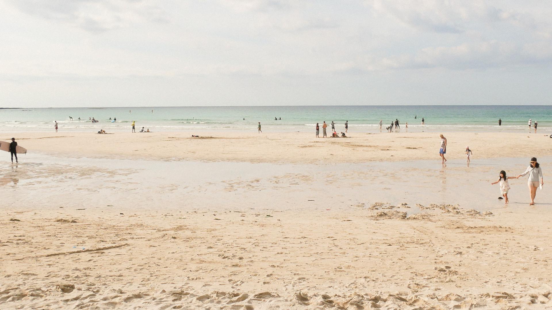 바다와 태양과 사람들