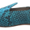 Thumbnail: babouches cuir python turquoise