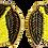 Thumbnail: Boucles en perle tissées CITRUS