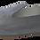 Thumbnail: babouches cuir gris nuage pailleté