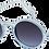 Thumbnail: lunettes SUN G aery blue