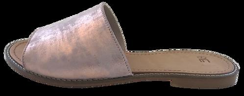 mules bandeau rosé LELLA