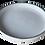 Thumbnail: assiette creuse bords métal L