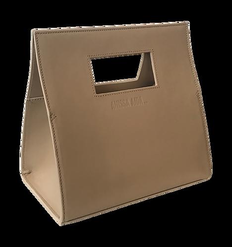 sac mini bandoulière beige SQUARE