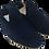 Thumbnail: babouches homme daim bleu nuit