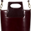 Thumbnail: sac seau cuir grenat JAY