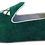 Thumbnail: babouches velours vert brodées