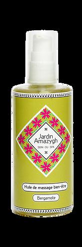 huile de massage bergamote