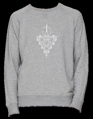 sweat-shirt gris TAZERZIT
