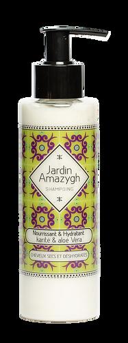 shampoing liquide à l'aloe vera et au beurre de karité