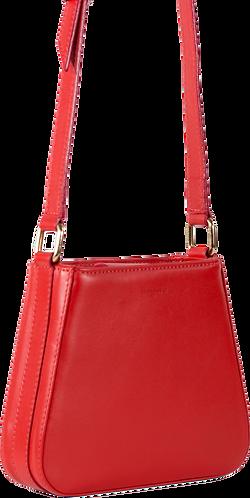 sac cuir rouge LIL