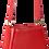 Thumbnail: sac cuir rouge LIL