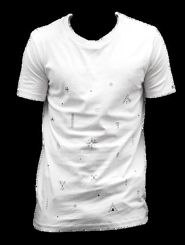 t-shirt blanc AHIJAM
