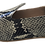 Thumbnail: babouches cuir python gris