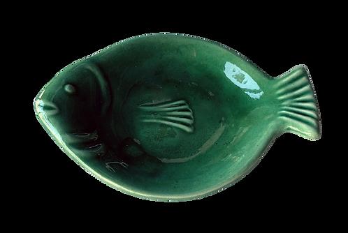 porte-savon poisson vert