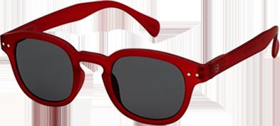 lunettes SUN C rouge