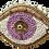 Thumbnail: broche oeil perles