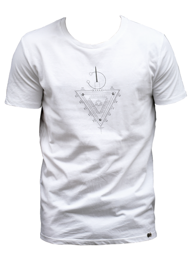 t-shirt blanc TAZERZIT