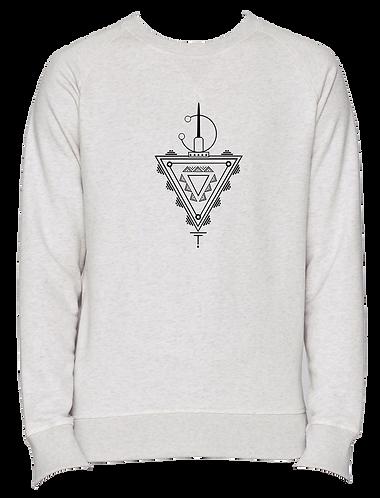 sweat shirt blanc TAZERZIT
