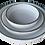 Thumbnail: assiette creuse bords métal S