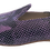 Thumbnail: babouches cuir python violet
