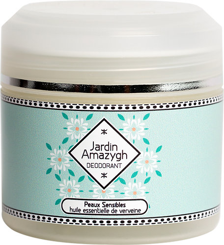 déodorant crème peaux sensibles verveine