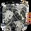 Thumbnail: porte-monnaie brocard fleurs