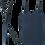 Thumbnail: porte-téléphone bleu marine cuir