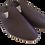 Thumbnail: babouches homme cuir marron