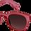 Thumbnail: lunettes SUN C sunset pink