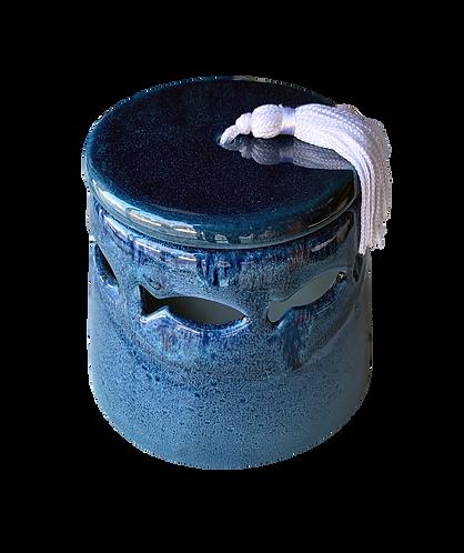 bougie FEHS poisson bleue