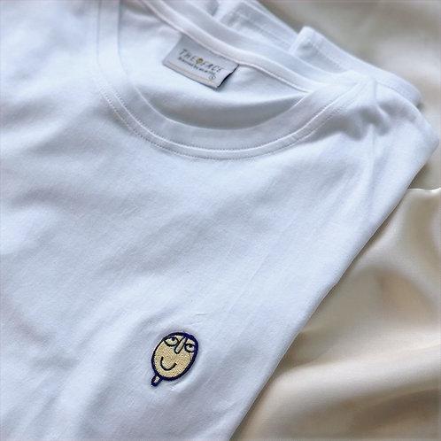 T-shirt blanc The Face