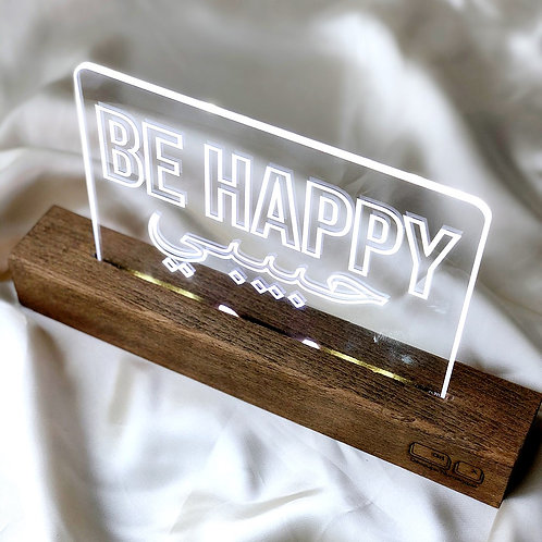 Lampe led Be Happy