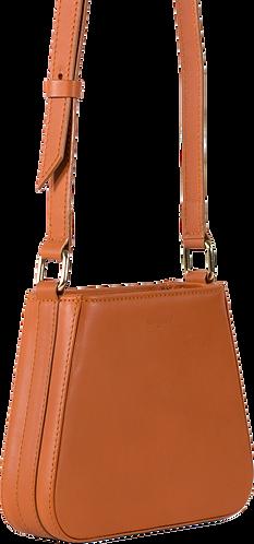 sac cuir orange LIL