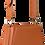 Thumbnail: sac cuir orange LIL