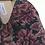 Thumbnail: babouches cuir fleur toile violet