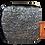 Thumbnail: porte-monnaie brocard gris or